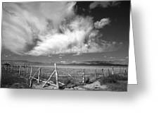 Fence Valley Greeting Card