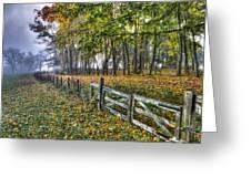 Fenceline Greeting Card