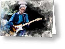 Fender Man Greeting Card