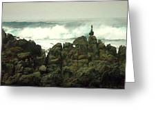 Feng Shui On The Monterey Peninsula Greeting Card