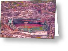 Fenway Park - Boston Greeting Card