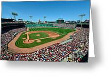 Fenway Park - Boston Red Sox Greeting Card by Mark Whitt