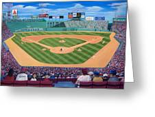 Fenway Park Greeting Card by Richard Ramsey