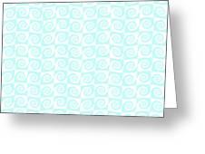 Fermat Spiral Pattern Effect Pattern. Greeting Card