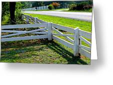 Ferncliff Fences Greeting Card