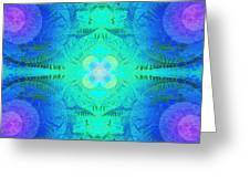 Ferns 2j Hotwax 3 Fractal Greeting Card