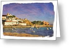 Ferragudo, Portugal Greeting Card