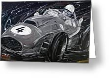Ferrari 1958 Hawthrorn Greeting Card