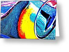 Ferrari 23b Abstract Greeting Card