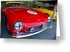 Ferrari 250 Gt Boano Greeting Card