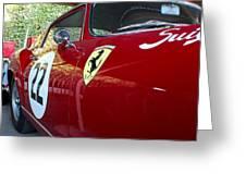Ferrari 250 Gt Greeting Card
