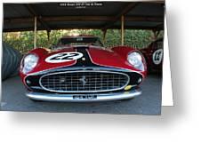 Ferrari 250 Gt Style Greeting Card