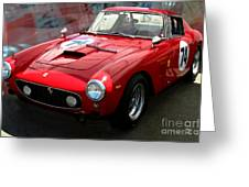 Ferrari 250 Gt Swb Greeting Card