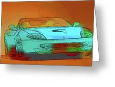 Ferrari 3 Greeting Card