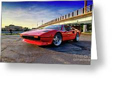 Ferrari 308 Greeting Card