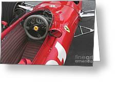 Ferrari 312 F-1 1967 Greeting Card