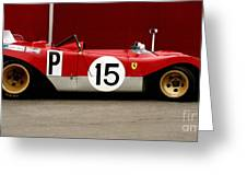 Ferrari 312 Profile 1971 Greeting Card