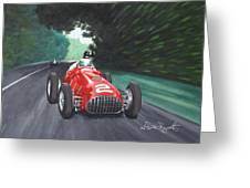 Ferrari 375 F1 Greeting Card