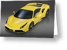 Ferrari 488 Greeting Card