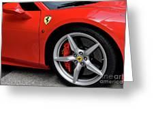 Ferrari 488gtb Greeting Card