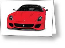 Ferrari 599xx Greeting Card