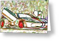 Ferrari 9 Greeting Card