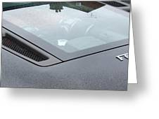 Ferrari Black Greeting Card