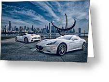 Ferrari California Greeting Card