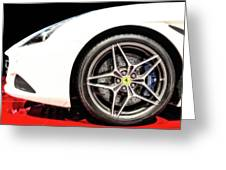 Ferrari California T Greeting Card