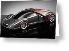 Ferrari Concept Black Greeting Card