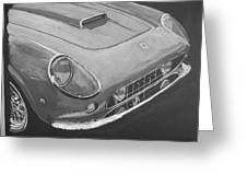 Ferrari F250 California Greeting Card