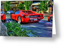 Ferrari From Afar Greeting Card