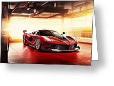 Ferrari Fxx K  1 Greeting Card