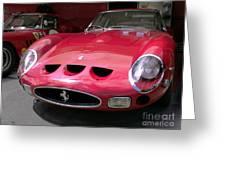 Ferrari Gto Greeting Card