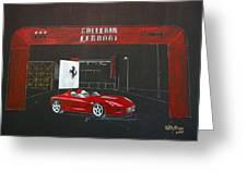 Ferrari Pininfarina Rossa Concept Greeting Card
