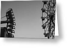 Ferris Darkness Greeting Card
