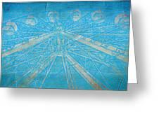 Ferris Sketch Greeting Card