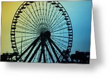 Ferris Wheel - Wildwood New Jersey Greeting Card
