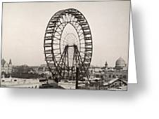 Ferris Wheel, 1893 Greeting Card