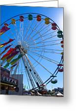 Ferris Wheel 6 Greeting Card