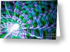 Ferris Wheel Abstract Xv Greeting Card
