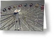 Ferris Wheel 5 Greeting Card