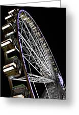 Ferris Wheel At Night 16x20 Greeting Card