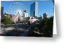 Ferris Wheel Atl Greeting Card