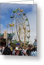 Ferris Wheel Santa Cruz Boardwalk Greeting Card