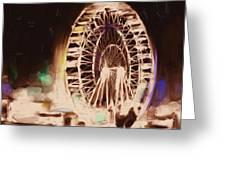 Ferris Wheels Tower 536 2 Greeting Card