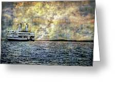 Ferry Boat Greeting Card