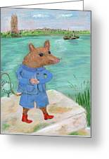 Ferry Mouse Greeting Card
