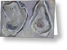 Ferry Oysters Greeting Card