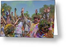 Festival Of Color Greeting Card